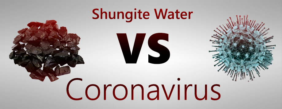 Shungite water against coronavirus