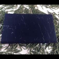 Shungite Tile Unpolished 10X6X1 cm