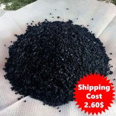 Activated Shungite 1-3 mm. 1 Kg (2.2 Lb)