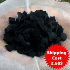 Shungite stones for water (rough shungite chips), 200 gr (7 oz)