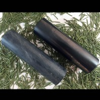 2 Harmoniser (Cylinder) Polished Of Shungite