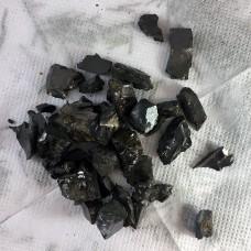 Crystals shungite Elite 50 gr (1-5 gr stones)