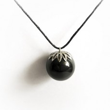 "Pendant ""Bead 20mm"" Of Mineral Shungite"