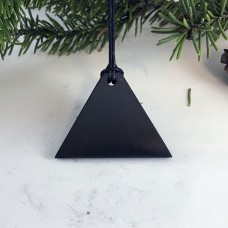 "Pendant ""Triangle"" Men Of Mineral Shungite"