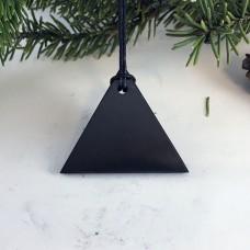 """Pendant """"Triangle"""" Men Of Mineral Shungite"""